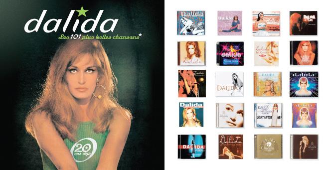 Album Dalida 101 plus belles chansons - albums divers