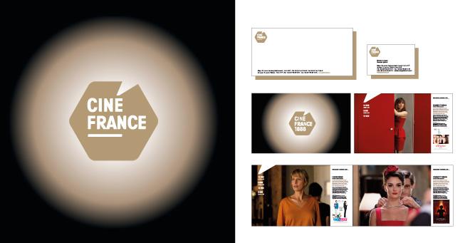 Logo et documents CinéFrance