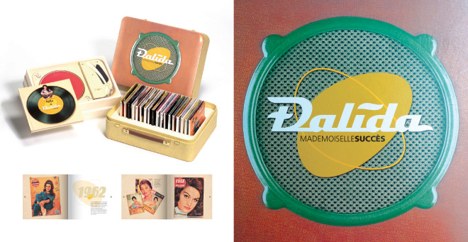 Creation Dalida coffret mademoiselle succes