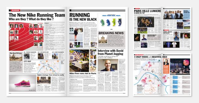 Journal L'Equipe Nike