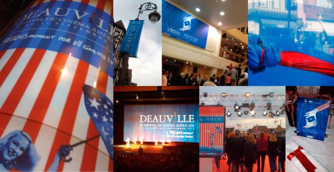 Création affiche 2012 - 2011 du Festival du Cinéma Americain de Deauville - photos