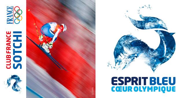 Création logo Equipe de France JO Sotchi 2014