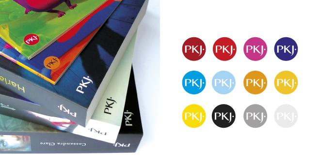 Création du logo PKJ - Pocket Jeunesse